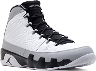 667c6adee10f Nike Mens Air Jordan 9 Retro Barons Leather Basketball Shoes