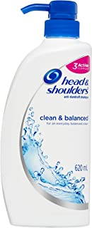 Head & Shoulders Clean & Balanced Anti-Dandruff Shampoo 620ml