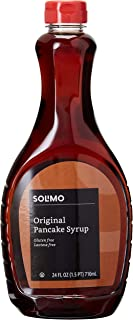 Amazon Brand - Solimo Pancake Syrup, Original Flavor, 24 FL OZ