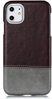 Positive Cover Compatible with iPhone 11 Pro, coffee PU Leather Wallet Flip Case for iPhone 11 Pro