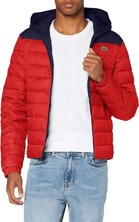 Piumino lacoste cappotto uomo BH1531