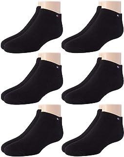 Big Kids Socks 6 Pack Ankle Sock Liners (Boys/Girls)