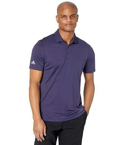 adidas Golf Performance Primegreen Polo Shirt (Purple) Men