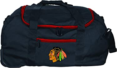 NHL Chicago Blackhawks Mini Collapsible Duffel, 22-inches