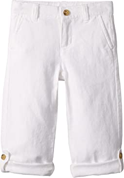Linen Roll-Up Pants (Toddler/Little Kids/Big Kids)
