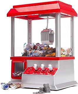MonsterCadeaux Distributeur Automatique de Bonbons avec Pince, Attrape-Bonbons, Pince à Bonbons, Machine de Foire