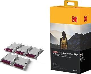 Kodak–Cartucho Mc impresión fotográfica mini todo en uno tinta y papel lote de 50 compatible con cámara Mini Shot impresora Mini 2 Empaque puede variar