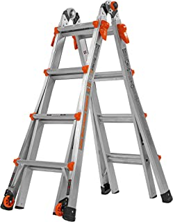 Little Giant 17-Foot Velocity Multi-Use Ladder, 300-Pound Duty Rating, 15417-001 (Renewed)