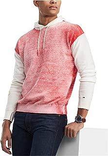 Tommy Hilfiger Mens Color Block Hoodie Sweatshirt