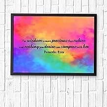 Best wisdom is more precious than rubies Reviews