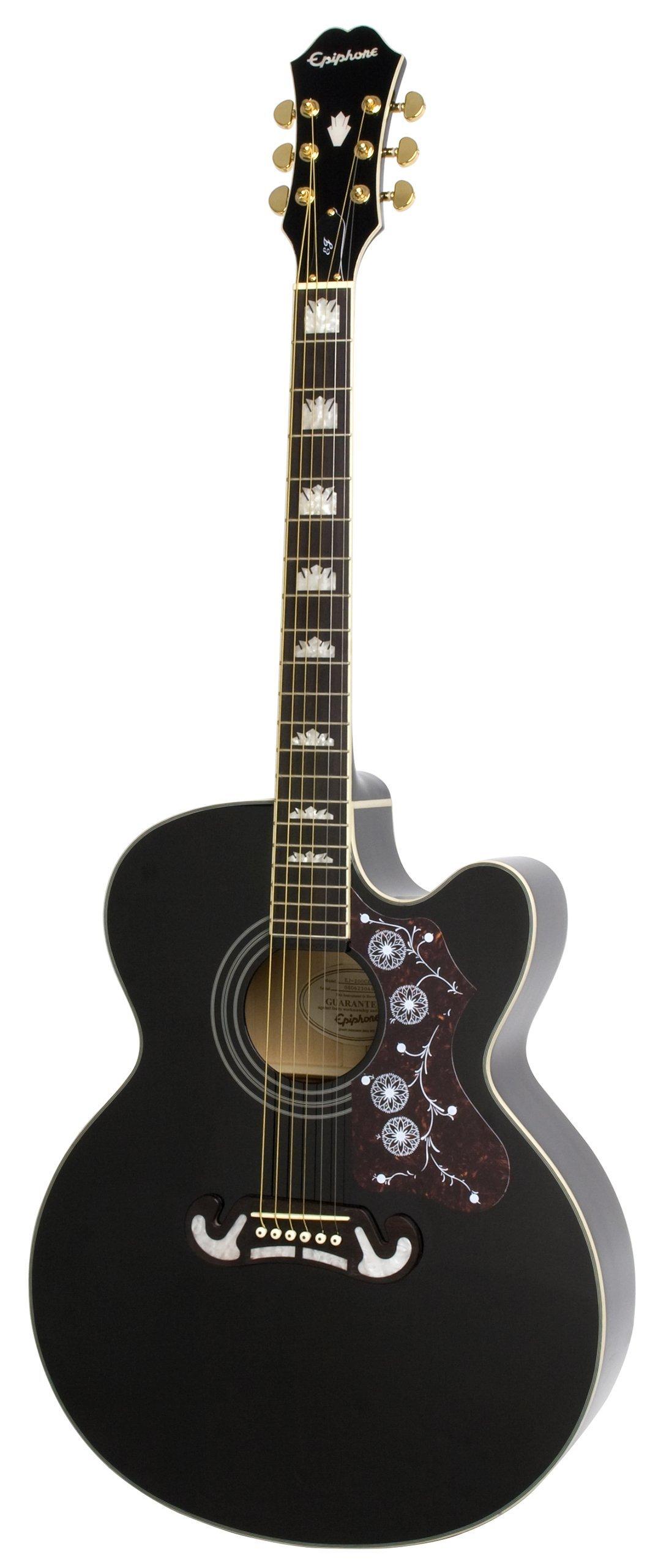 Cheap EJ-200CE Acoustic/Elec Guitar in Black Black Friday & Cyber Monday 2019