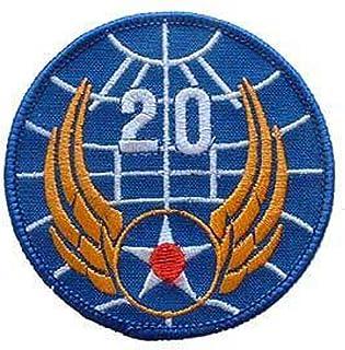 EagleEmblems PM0158 Patch-USAF,020TH (3'')