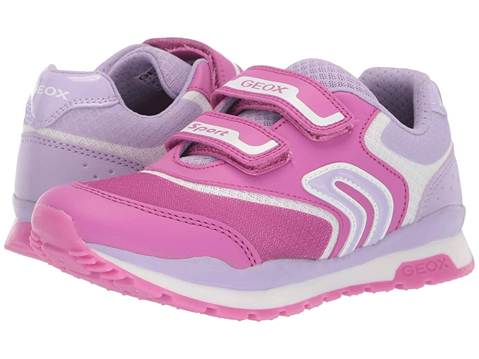Geox Kids Pavel Girl 3 (Little Kid/Big Kid) (Fuchsia/Lilac) Girl