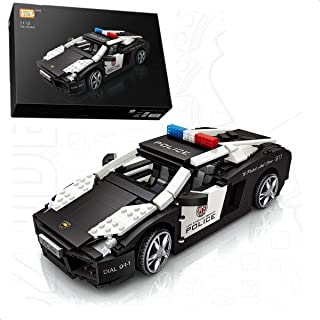 LOZ inFUNity Lamborghini Police Car Speed Champions Race Car blocks (1005 PCS) Lambo Gallardo