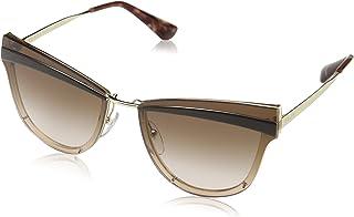 f4c231646e Prada 0PR 12US Gafas de sol, Pale Gold/Antique Pink, 58 para Mujer