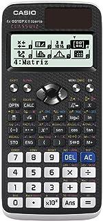 Casio FX-991SPX II - Calculadora científica, Recomendada para el curriculum español y portugués, 576 funciones, Solar y co...