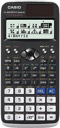Casio FX-991SPX II - Calculadora científica (576 funciones, cálculo de ecuaciones, 47 constantes científicas), color negro
