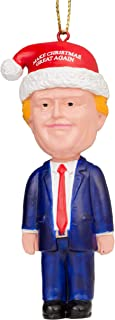 Costume Agent Assorted Funny Christmas Tree Ornaments Decoration (Trump)