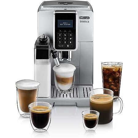 De'Longhi ECAM35075SI Dinamica with LatteCrema Fully Automatic Espresso Machine, Silver