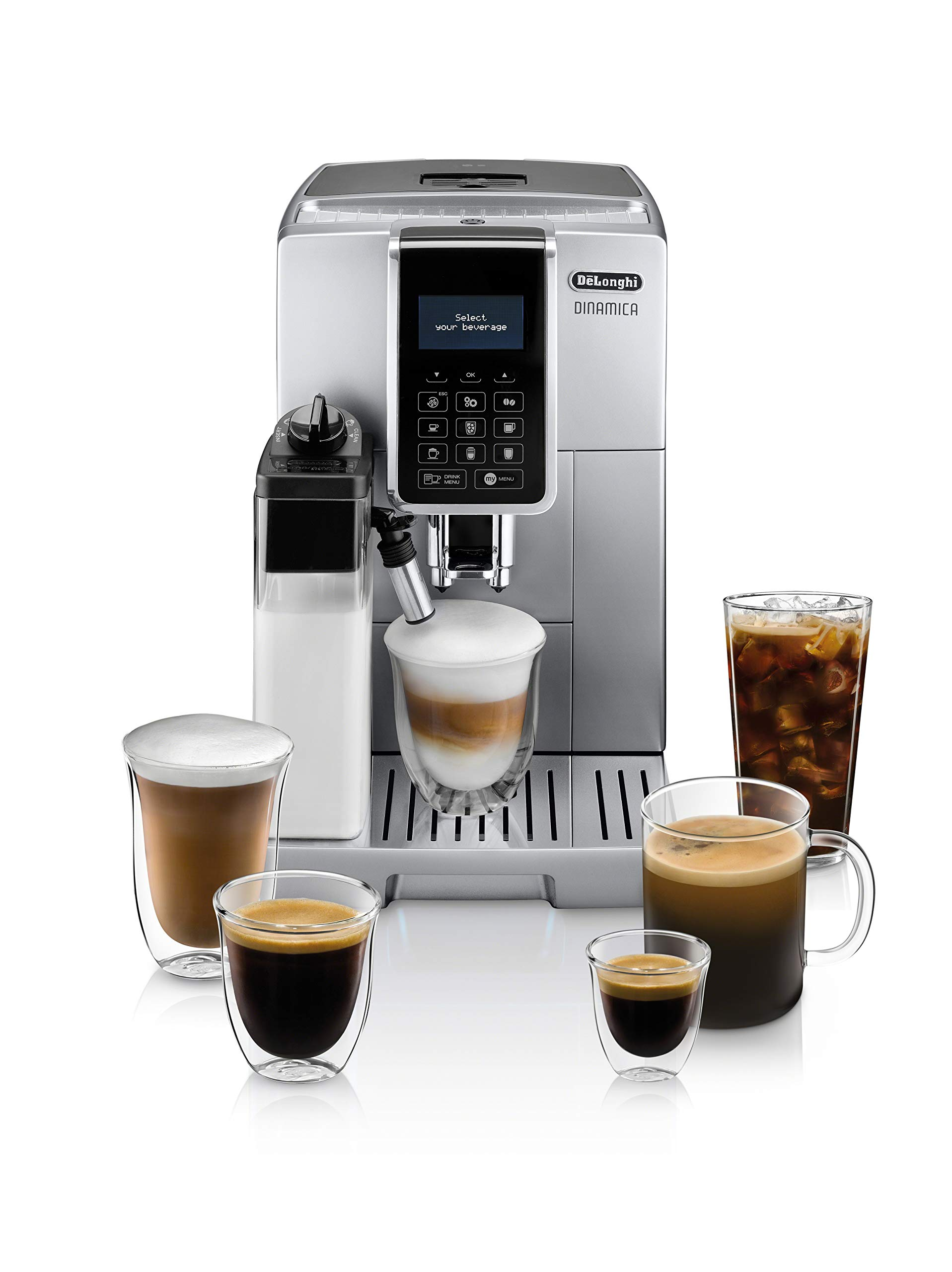 De'Longhi ECAM35075SI Dinamica Automatic Espresso Machine