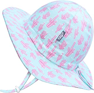 JAN & JUL GRO-with-Me Kids' Floppy Sun-Hats with 50+ UPF Protection for Baby Toddler Girls