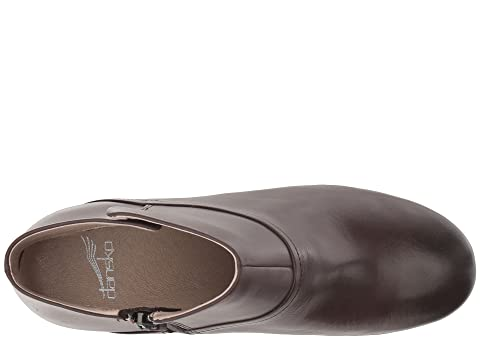 Miley CalfChocolate Dansko Black Calf Burnished Burnished qdTURfw