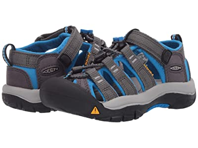 KEEN Kids Newport H2 (Toddler/Little Kid) (Magnet/Brilliant Blue) Kids Shoes