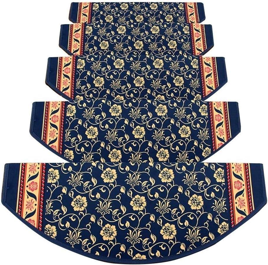 HLR-Treads Stair Gorgeous Treads Carpet Pads Slip Step Year-end gift Semi-Circular Anti
