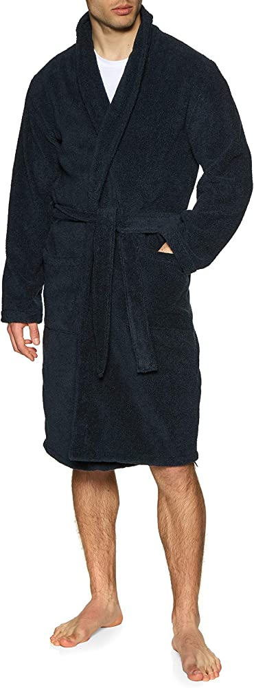 Emporio armani underwear homewear accappatoio uomo 100% cotone 1119040P59100135