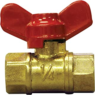 Midwest Control CBV-50TH 450 PSI CWP 1//2 FPT Mini Ball Valve with T-Handle Midwest-Control