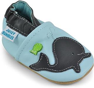 83027c8c4efca Juicy Bumbles Chaussures Bébé - Chaussons Bébé - Chaussons Cuir Souple -  Chaussures Cuir Souple Premiers
