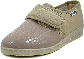 EMANUELA Scarpe Scarpa Comoda Pantofole Pantofola Donna Calzature Comode Strappo Velcro 649
