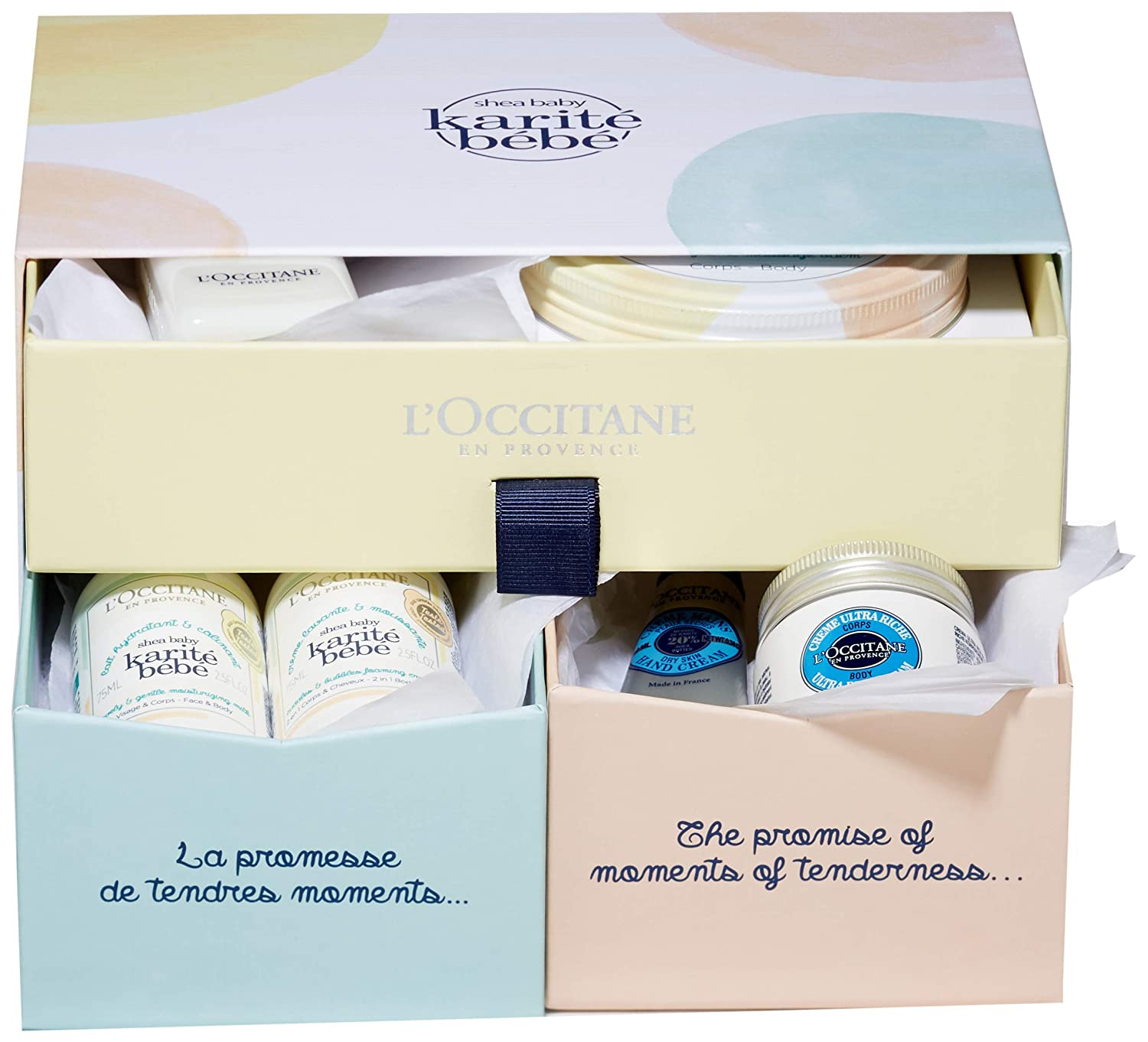L'Occitane Gentle & Nourishing Shea Mom and Baby Collection Gift Set