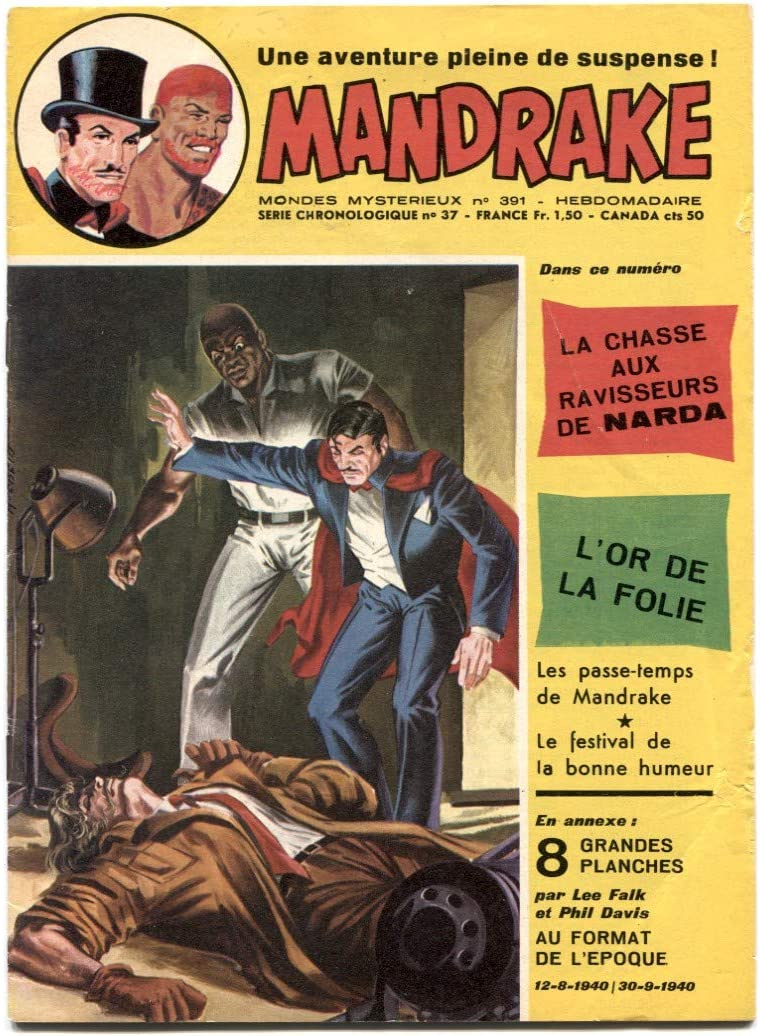 Mandrake the Magician #391 French Max 82% Special price OFF comic 1973- VG