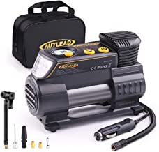 AUTLEAD C2 12V DC Portable Air Compressor Tire Inflator Pump with Digital Gauge for Car..