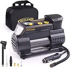 portable auto tire compressor