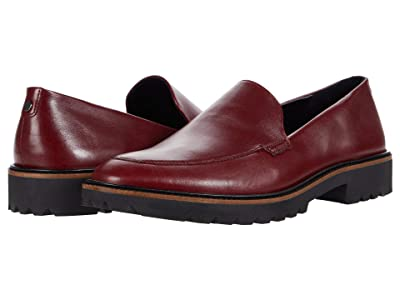 ECCO Incise Tailored Loafer (Syrah) Women
