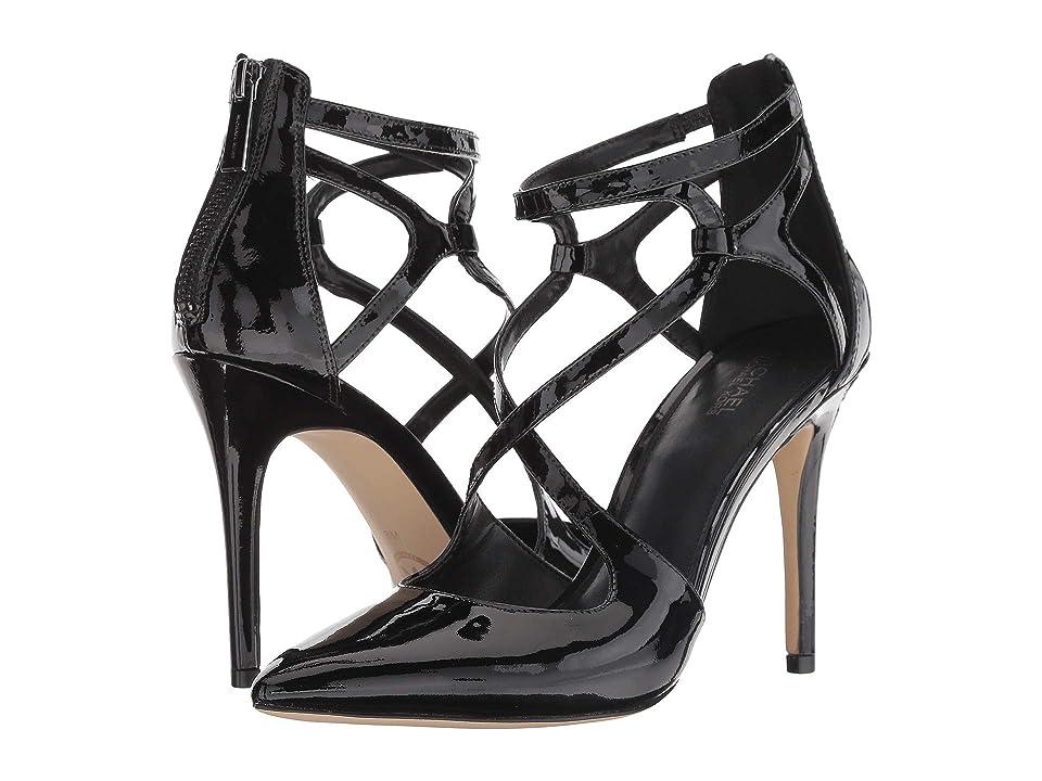 MICHAEL Michael Kors Catia Pump (Black Patent) High Heels