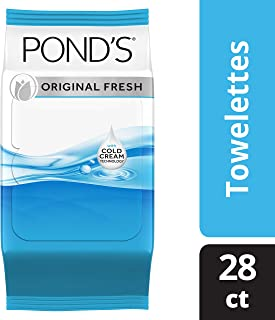 Pond's MoistureClean Original Fresh Towelette 28 count