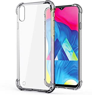 Samsung Galaxy M10 Protective Transparent clear Case Shockproof Back cover, clear