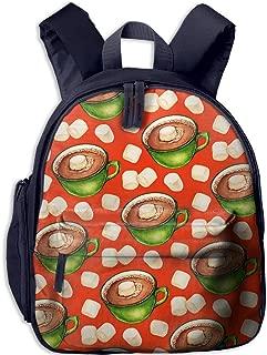Pinta Coffee Cub Cool School Book Bag Backpacks for Girl's Boy's