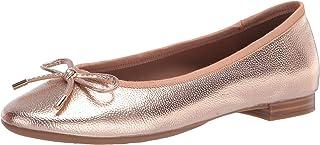 Aerosoles Women's Crystal Ballet Flat, Pink MET PU, 10