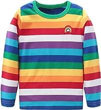 rainbow long sleeve shirt baby