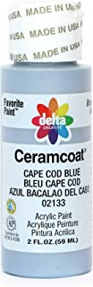 Delta Creative Ceramcoat Acrylic Paint in Assorted Colors (2 oz), 2133, Cape Cod Blue