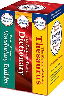 Merriam-Webster's Everyday Language Reference Set, Newest Edition 2016 Copyright