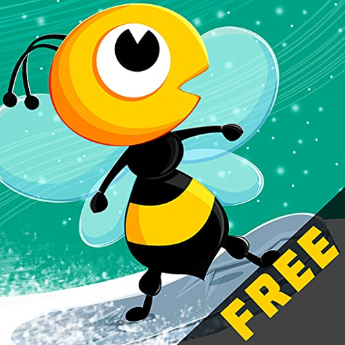 Honey Winter Quest : The Cool Bee Boy Snowboard Racing Game