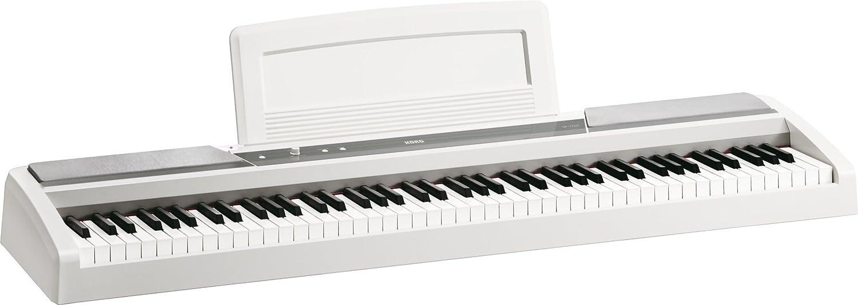 Korg SP170SWH SP-170SBK - Piano digital, color blanco: Amazon ...
