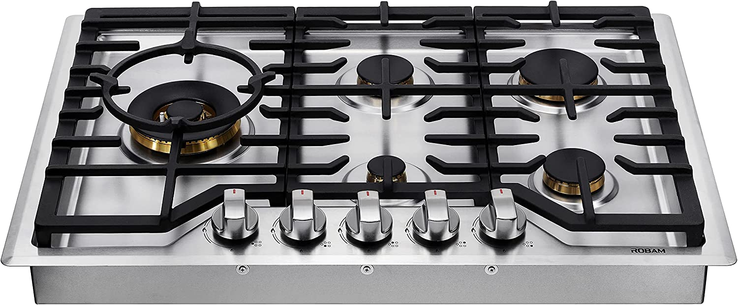 ROBAM G513 30†Gas Cooktop 5 with NEW before selling Stove ...