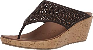 Best chocolate brown wedge sandals Reviews