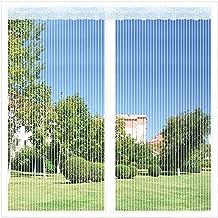 Raamschermgaas Meshgordijn Glasvezelgaasschermgaas Meshgordijn Past op elke maat, gemonteerd op meerdere ramen(90x150cm(35...
